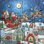 Santas Flight Advent Calendar