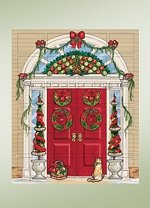 Colonial Door Advent Calendar
